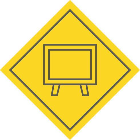 schoolbord pictogram ontwerp vector