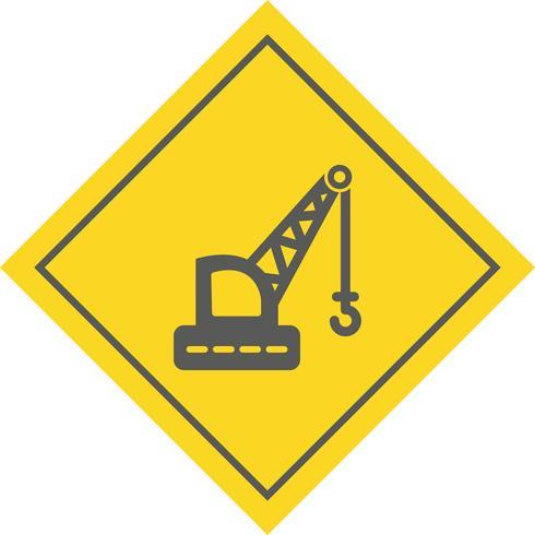 kraan pictogram ontwerp vector