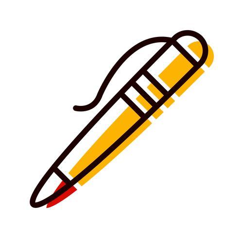 Pen pictogram ontwerp vector