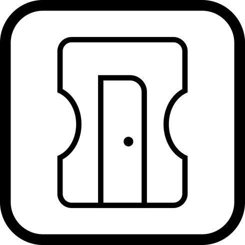 puntenslijper pictogram ontwerp vector