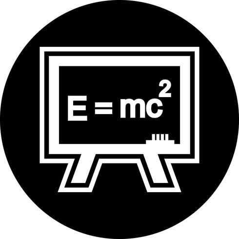 formule pictogram ontwerp vector