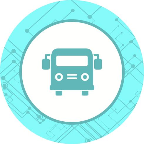School bus pictogram ontwerp vector