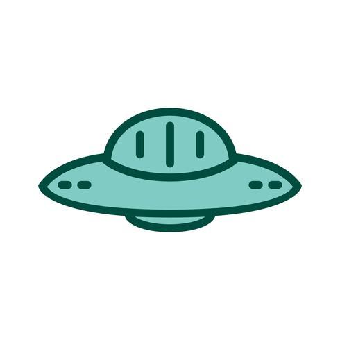 UFO pictogram ontwerp vector