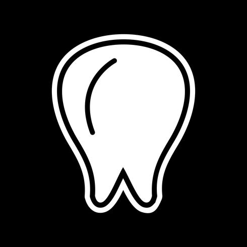 Tand pictogram ontwerp vector