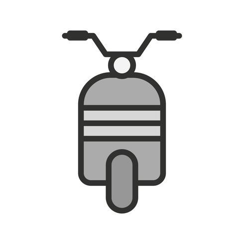 scooter pictogram ontwerp vector