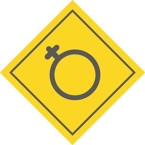 Vrouwelijk pictogramontwerp vector