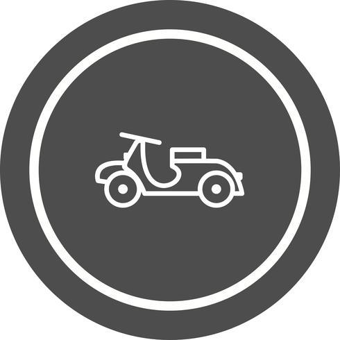 vespa pictogram ontwerp vector