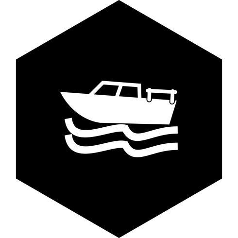 Boot pictogram ontwerp vector