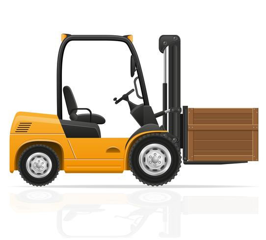 heftruck vectorillustratie vector