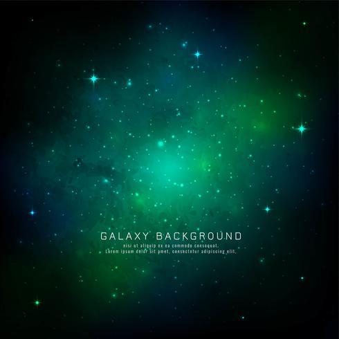 Abstracte melkwegruimteachtergrond vector