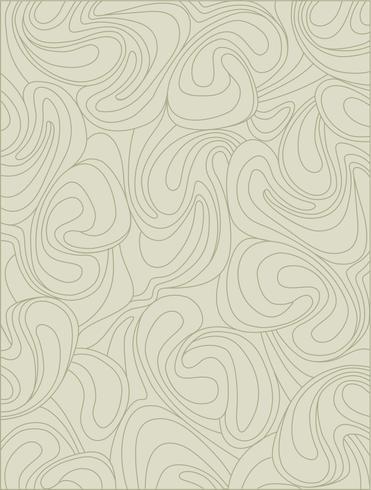 Abstract geometrisch patroon Waveline-behang. Bloemen ornament vector