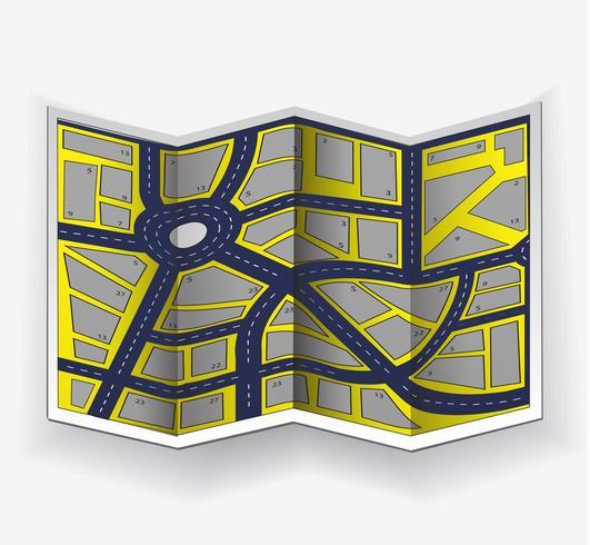 Abstracte stad vector