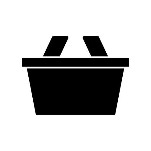 Mand Glyph Black pictogram vector