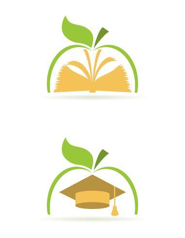 logo wetenschap dieet vectorillustratie vector