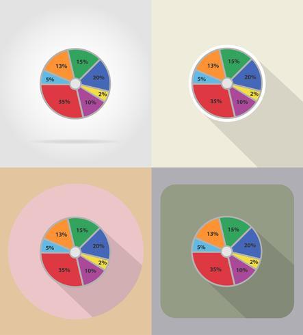 zakelijke afbeeldingen plat pictogrammen vector illustratie