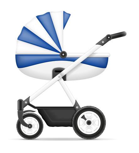 kinderwagen voorraad vectorillustratie vector