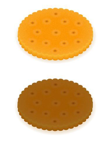 krokant koekje cookie vectorillustratie vector