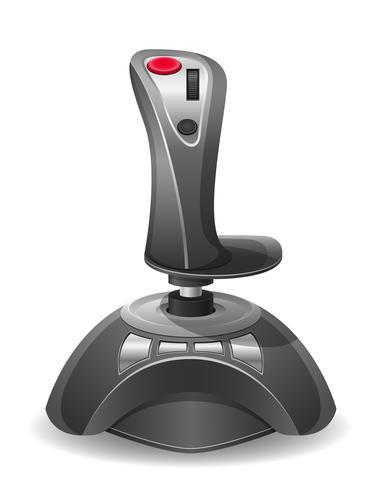 joystick voor gokkenconsole vectorillustratie EPS 10 vector