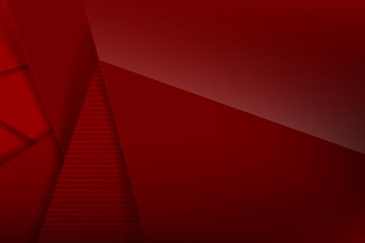 Abstracte achtergrond rode donkere en zwarte overlapping 006 vector