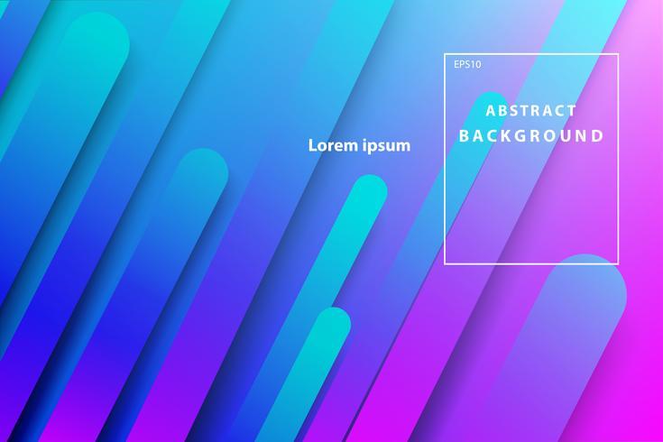 abstracte geometrische donkerblauwe en roze dekking en behangachtergrond vector