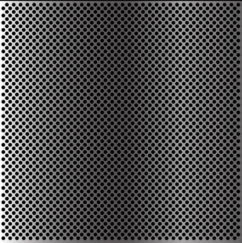 Abstracte van het het netwerkpatroon van de metaalcirkel behang als achtergrond textuur vectorillustratie. vector