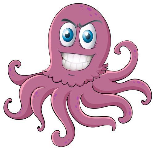 Een octopus vector