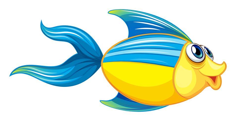 Een vis vector
