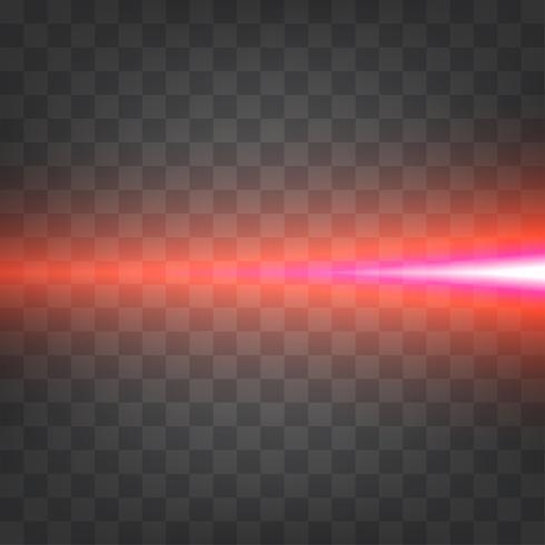 Lichteffect horizontaal vector
