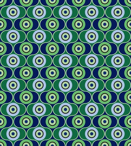 Abstract geometrisch patroon. Cirkel ornament. Polka dot tegel ornament vector