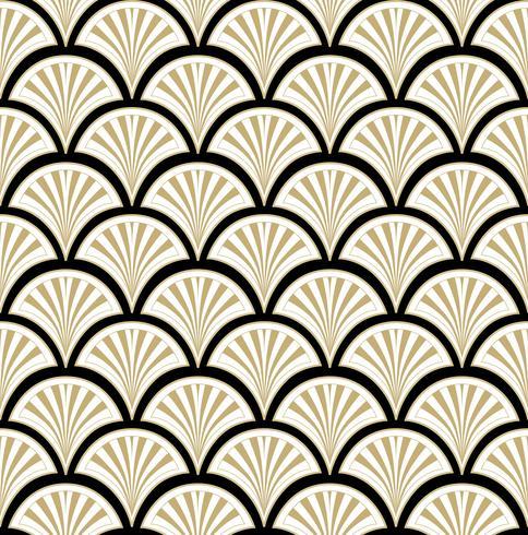 Abstract bloemenornament. Oosterse bloem naadloze patroon. vector