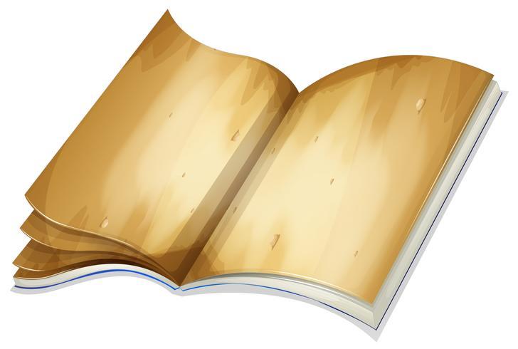 Een oud boek vector