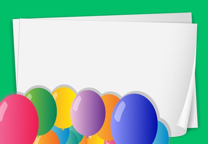 Groene banner vector