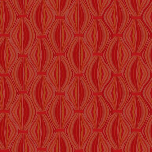 Abstract golvend lijntegelpatroon. Wollen stoffen geometrisch ornament vector