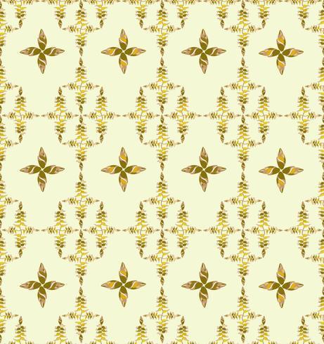 Abstract bloemen etnisch patroon. Geometrisch bloemenornament. vector