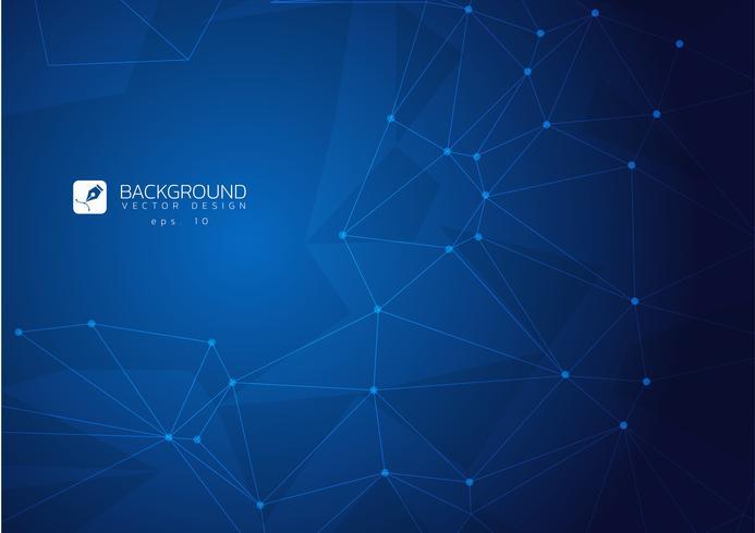 Blauw licht veelhoekige mozaïek achtergrond, vectorillustratie, zakelijke ontwerpsjablonen vector