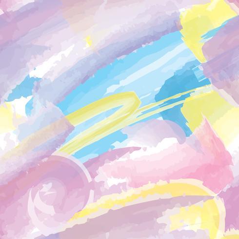 Abstract splash naadloze patroon Blot aquarel achtergrond vector