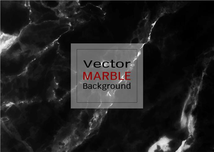 Vector zwarte marmeren textuur.