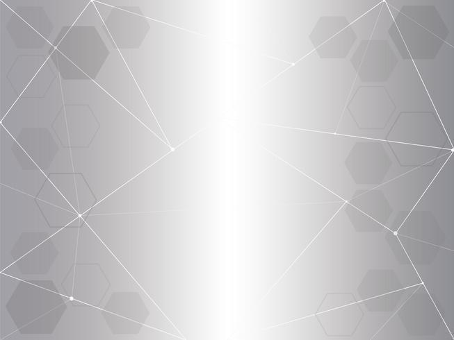 abstracte grijze polygonen achtergrond vector