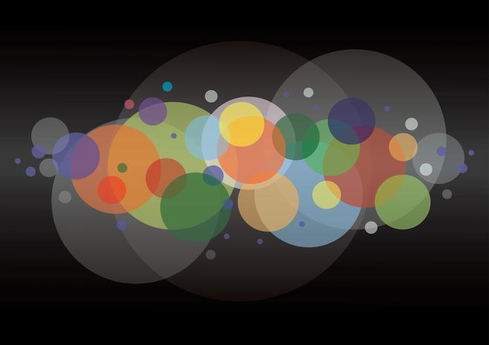 abstracte ronde cirkel achtergrond vector
