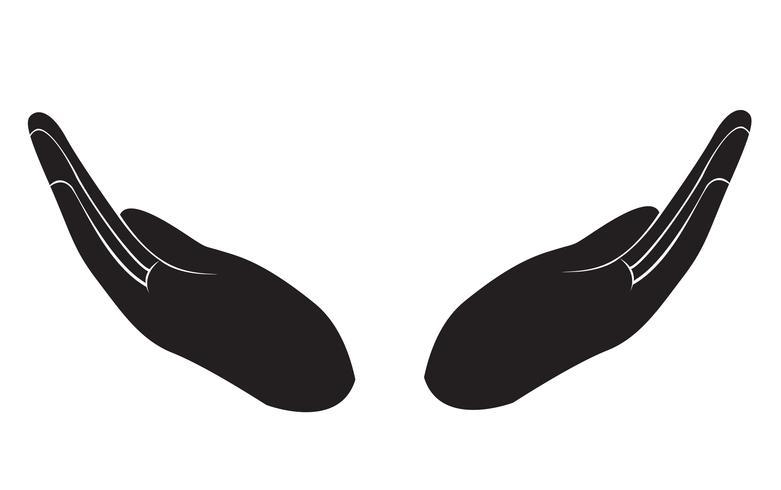 De gesturing hand ontwerp vector