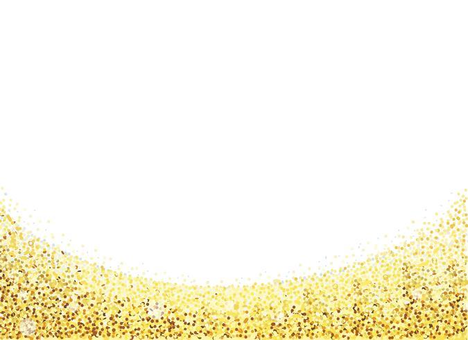 Gouden Carborundum achtergrond vector