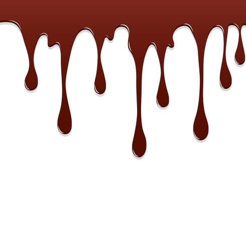 Verf Chocolade het kleurrijke druipen ploetert, Kleurplons of Dalend Vectorontwerp Als achtergrond vector