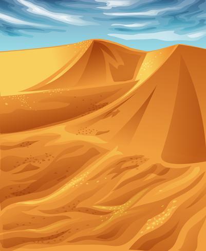 woestijn. vector