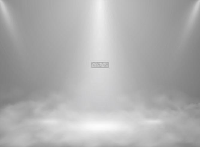 Abstracte moderne witte kleur studio mockup achtergrond. illustratie vector eps10