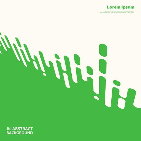 Abstracte groene kleur die de presentatieachtergrond verfraaien van streeplijnen. illustratie vector eps10