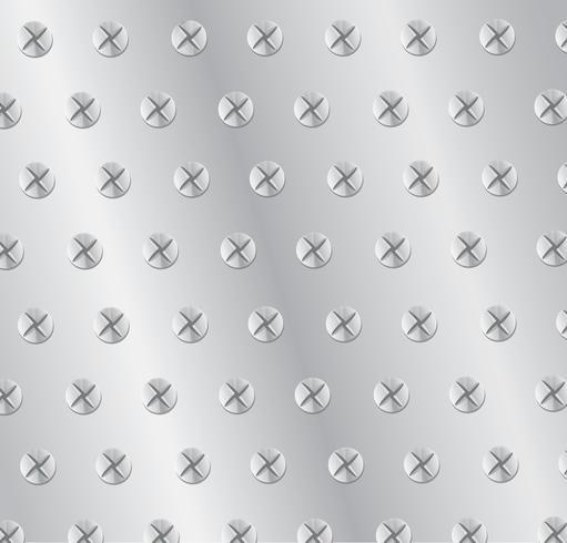 plaat metaal achtergrond vectorillustratie vector