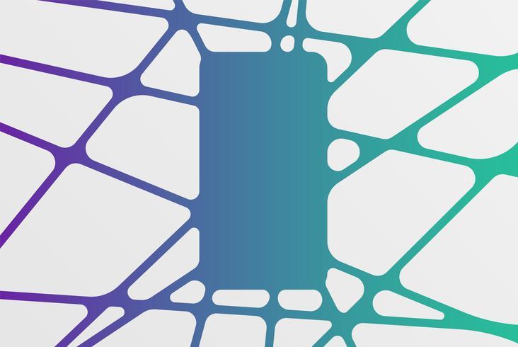 Abstract kleurrijk malplaatjepatroon, vectorillustratie vector