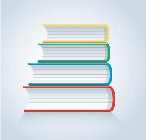 boeken pictogram ontwerp vectorillustratie, onderwijs concepten vector