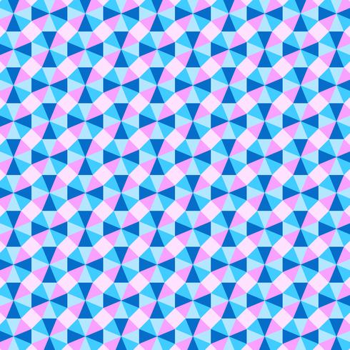 Pastel geometrische optische achtergrond vector