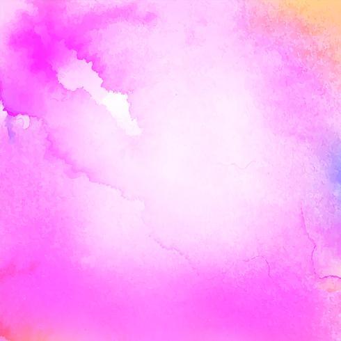 Abstracte roze aquarel achtergrond vector